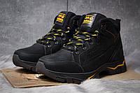 Зимние ботинки  на меху Jack Wolfskin, черные (30941) размеры в наличии ► [  41 42  ], фото 1