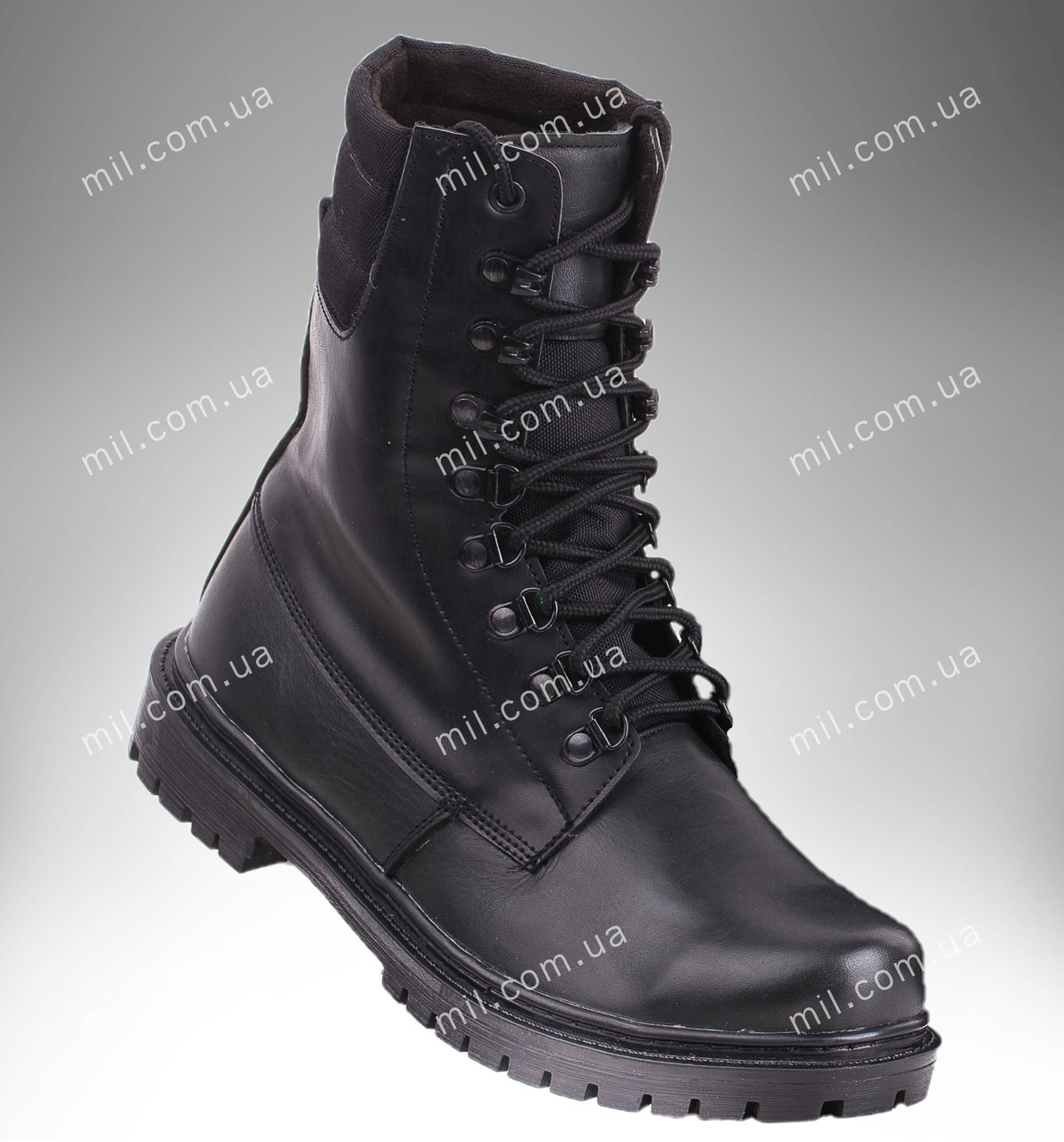 Берцы зимние / военная, рабочая обувь ШТУРМ (черный)