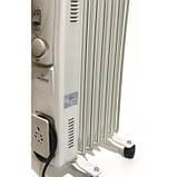 Радіатор масляний Crownberg CB-7-S 1500 Вт, 7 секцій, фото 2