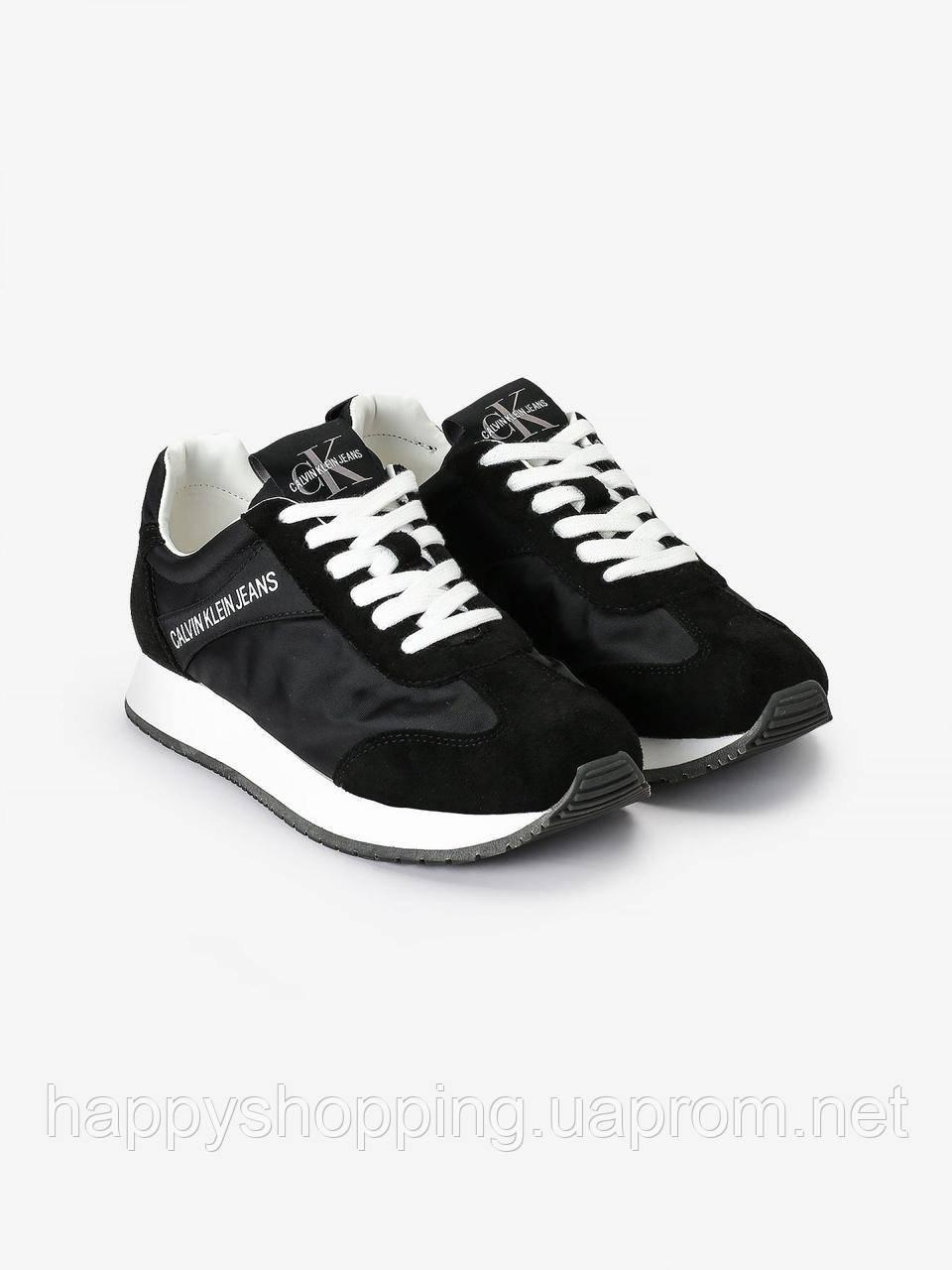 """Женские оригинальные черные кроссовки """"Jerrold"""" Calvin Klein Jeans"""