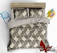 ✅ Полуторный комплект постельного белья (Ранфорс) TAG R4088