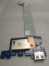 Плата LS-D702P USB кардрідер для ноутбука HP 250 G5 255 G5
