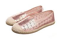 Слипоны женские Exquile pink 39 - 188817