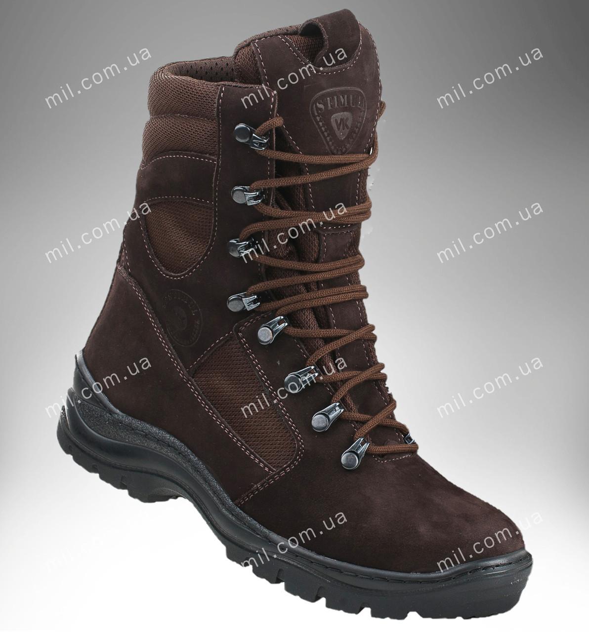 Берцы зимние / военная, тактическая обувь GROZA (шоколад)