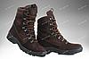 Берцы зимние / военная, тактическая обувь GROZA (шоколад), фото 2