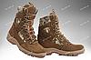 Берцы зимние / военная, тактическая обувь GROZA (шоколад), фото 10
