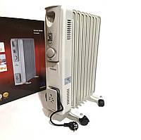 Радиатор масляный Crownberg CB-9-S 2000 Вт 9 секций