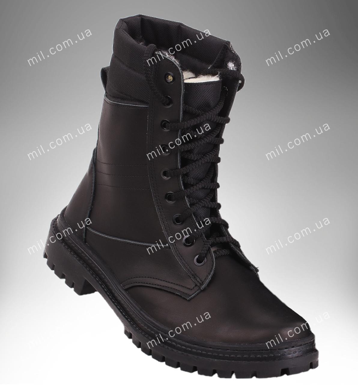 Берцы зимние / военная, рабочая обувь ПАНТЕРА II (черный)