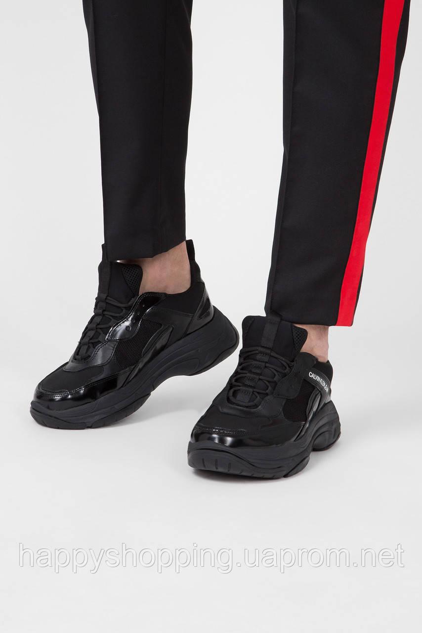 """Мужские оригинальные черные кроссовки """"Marvin"""" Calvin Klein Jeans, фото 1"""