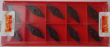VNMG160408 (P,K) Sandvik Твердосплавная пластина для токарного резца, фото 2