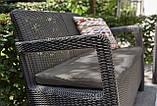 Набір садових меблів Tarifa With Sofa Table з штучного ротанга ( Allibert by Keter ), фото 9