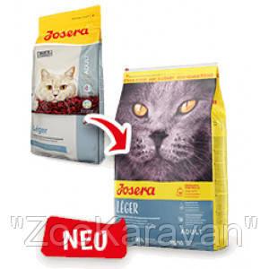 Josera Léger сухой корм для малоактивных и склонных к полноте, кастрированных и стерилизованных кошек. 2 кг