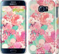 "Чехол на Samsung Galaxy S6 G920 Цветы 3 ""2734c-80"""