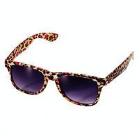 Очки Леопардовые солнцезащитные, карнавальные