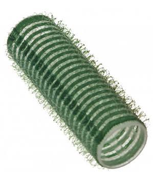 Бігуді Sibel на липучці 21 мм зелені
