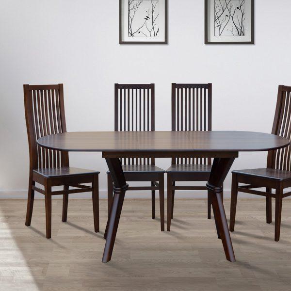 Стол обеденный  Микс Мебель Брайтон 129 (+34)*81см