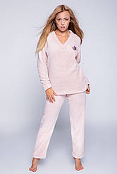Женская пижама из плюша! Теплая и мягкая!
