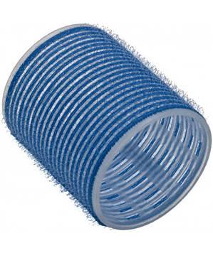 Бігуді Sibel на липучці 56 мм блакитні