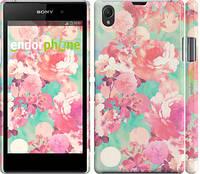 """Чехол на Sony Xperia Z1 C6902 Цветы 3 """"2734c-38"""""""