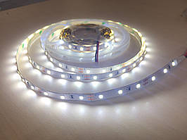 Світлодіодна стрічка LED 3528-60 12V IP33 біла Стандарт