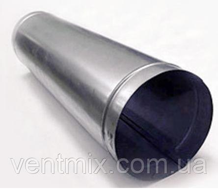 Труба d 140 длина 0,5 м из оцинкованной стали