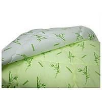 Одеяло полуторное Бамбук Лелека, наполнитель бамбуковое волокно, плотность 390 г/м2