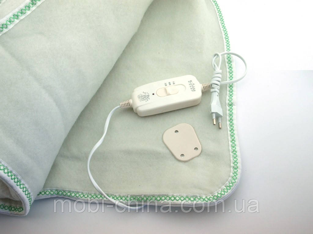Электропростынь с сумкой Electric blanket 150*120  электроодеяло , белая