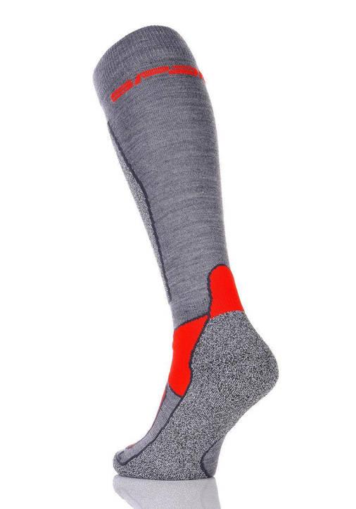 Шкарпетки лижні Spaio Merino Vigour 35-37 Grey-Red, фото 2