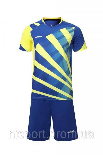 Игровая форма для команд сине-желтая 023 Европав