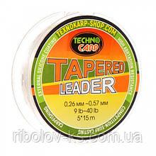 Шок Лидер конусный Technocarp 0,26-0,57мм 5*15м