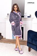 Женский халат с тапочками 174079 ерх, фото 1