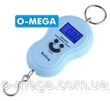 Весы электронные кантер с подсветкой до 50 кг.