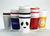 500 шт!  Стаканы для кофе/чая с вашим лого всего за  475 грн