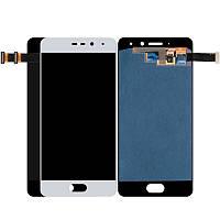 Дисплей для мобильного телефона Meizu Pro 7 / белый / с тачскрином / ORIG / OLED