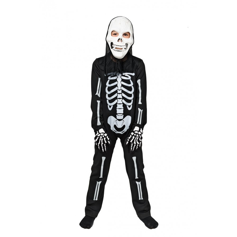 Костюм Скелета карнавальный для мальчика