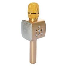 Микрофон беспроводной для караоке M5 (ЗОЛОТОЙ) арт. 15319
