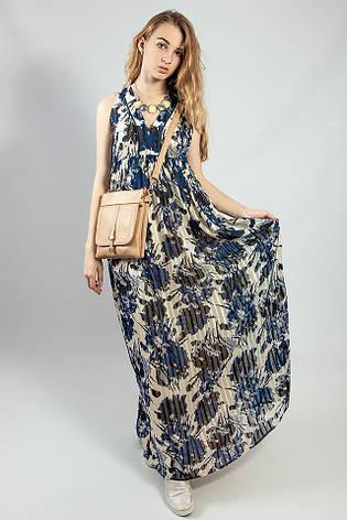 Женское летнее  платье - сарафан макси в пол  Markshara, фото 2