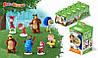 СВИТБОКС МАША и МЕДВЕДЬ 3 (Летние каникулы) Мармелад с игрушкой в коробочке