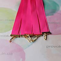 Лента для медалей и наград, Розовая, 12мм, 65см