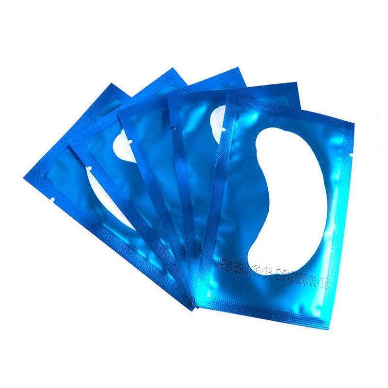 Комплект патчей цвет синий 5 шт.