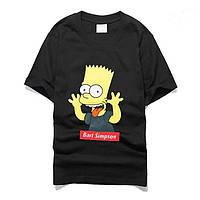 """Размер М Футболка Supreme Bart Simpson   Футболка Суприм Барт Симпсон №6 """""""" В стиле Supreme """"""""  женская"""