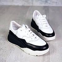 Молодёжные кроссовки из натуральной кожи 36,37,39 р, фото 1