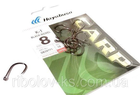 Крючок Hayabusa K-1 №8 BN (10шт)