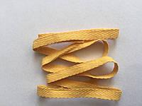 Киперна лента жёлтый 10мм