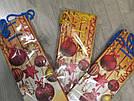 Подарочный новогодний бумажный пакет БУТЫЛКА Игрушки12*9*36 см, фото 2