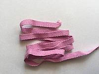 Лента киперна 10 мм розовая хб