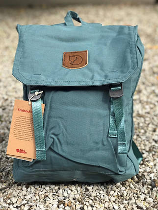 Рюкзак в стиле Fjallraven Foldsack No.1 Graphite Black, фото 2