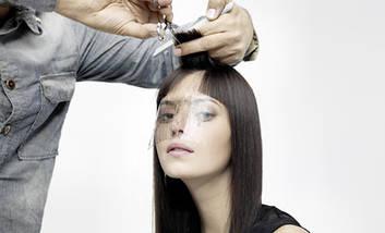 """Защитная маска для стрижки """"Face Pro"""" 100шт/уп, фото 2"""