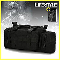 Тактическая штурмовая наплечная сумка ForTactic 5л (A04) + Подарок