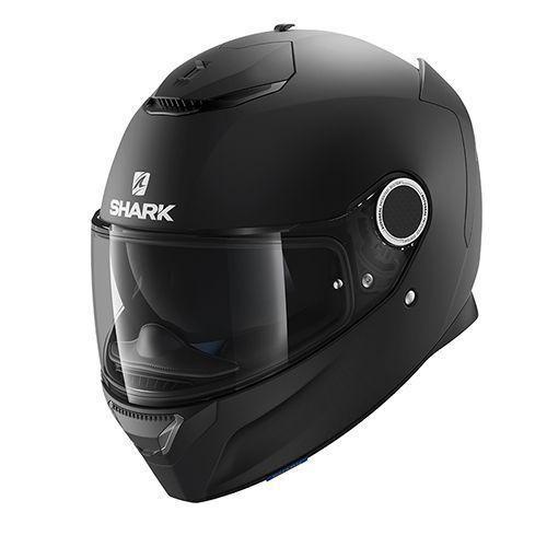 Шлем Shark Spartan р.S, черный мат